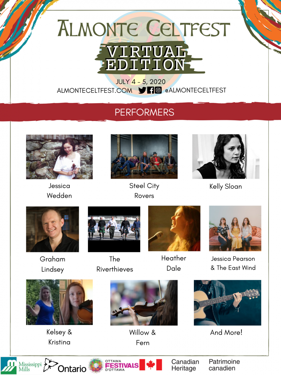 Almonte Celtfest Online 2020 Poster (1)